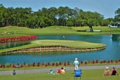 17th hole Island green at TPC Sawgrass golf course