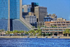 View of Downtown Jacksonville and St Johns River with Independent Life building