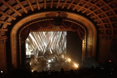Stage view of concert at Florida Theatre