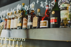 Uptown bar with premium liquors